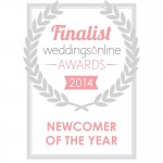 The Beat Boutique were thrilled to have made it to the final stages of the Best Newcomer award in the 2014 Wedding Online Awards
