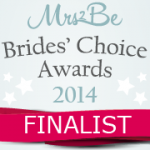 BlackTye was a finalist in the Mrs2Be Brides' Choice awards 2014.