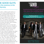 The Good Guys as featured in Hot Press Magazine.